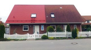 Dachreinigung   Dachrinnenreinigung   Dachrinne abdichten   Dachsanierung   Dacheindeckung   Betonwand reinigen   Dachversieglung